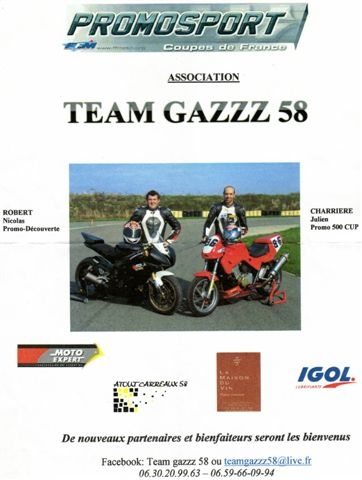 Association Team Gazzz 58