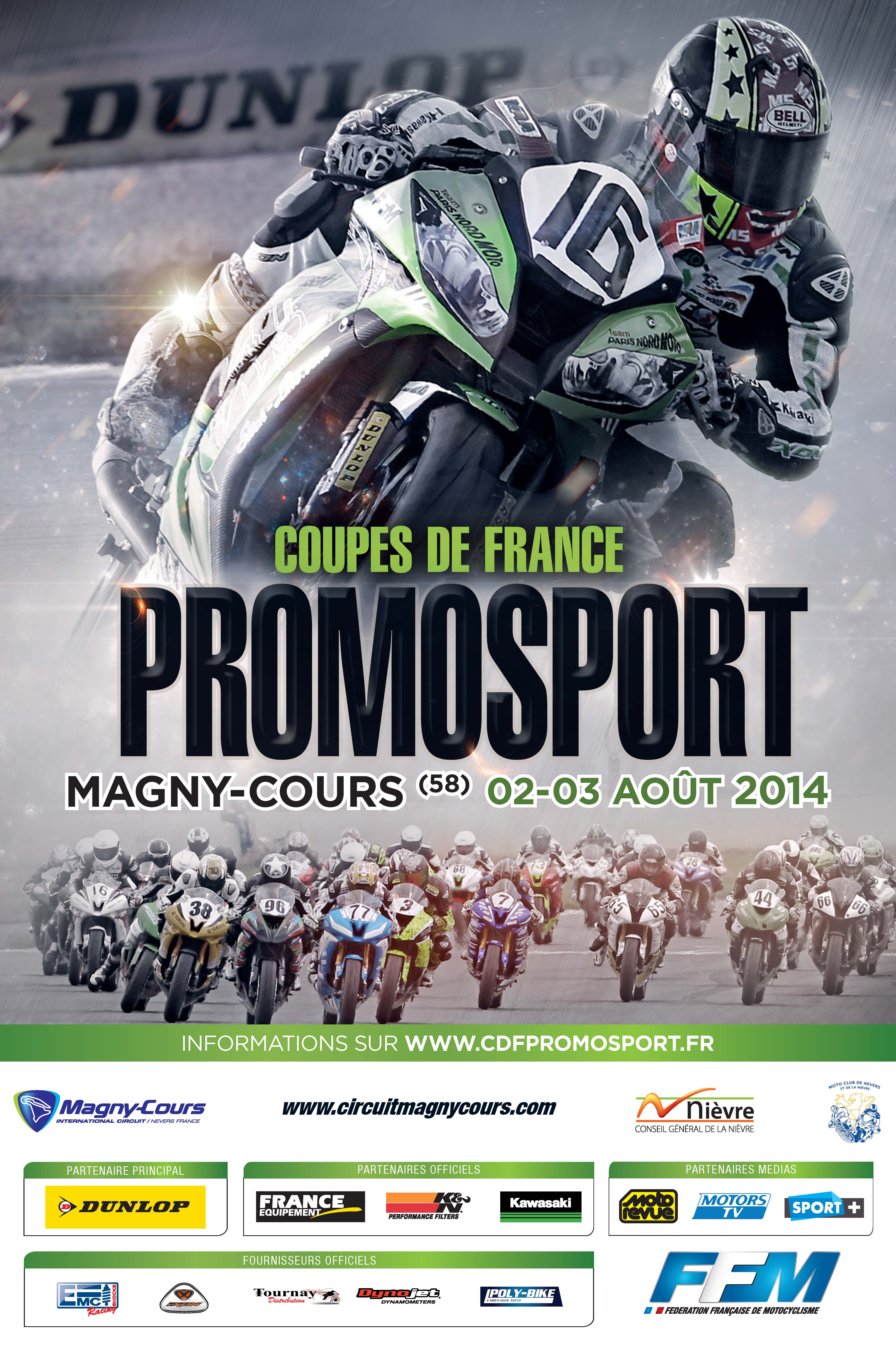 PROMOSPORT 2014 MAGNY-COURS