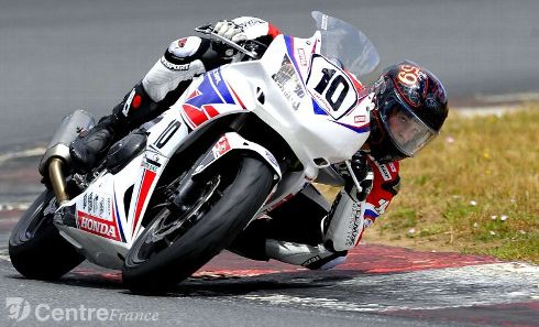 Maxime BONNOT en Honda 500 CBR