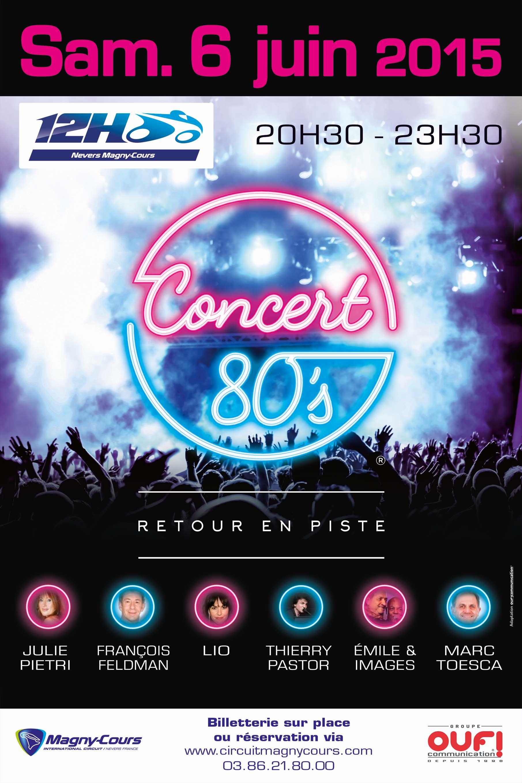 Affiche Concert affiche concert 80 – mc nevers