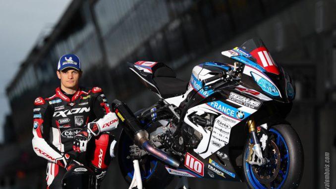 Team Tecmas BMW Rider BONNOT Maxime